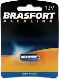 PILHA ALCALINA BATERIA 12 V BRASFORT 6305