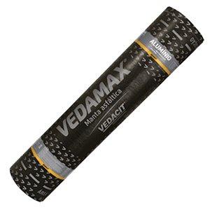 Manta Asfáltica Aluminizada Telhado Auto Adesiva-  Vedamax