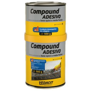 Compound Adesivo 1 Kg - Vedacit Otto/baumgard