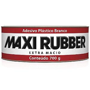 Adesivo Plastico Branco 700g Maxi Rubber