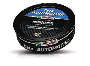 Cera Profissional 200g Automotiva 6mp020 Maxi Rubber