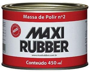 Massa De Polir Num 2 6mh014 490 Grs - Maxi Rubber