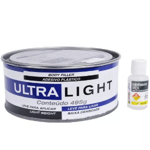 Adesivo Plastico Maxi Rubber Ultra Light 495g - 1mg095