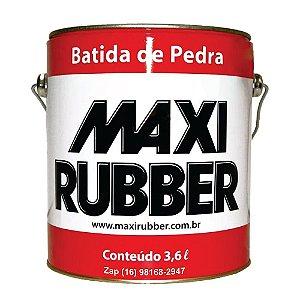 Batida De Pedra  3,6l Emborrach Maxi Rubber Branco