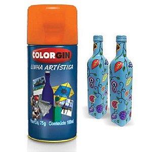 Tinta Spray Para Vidros Colorgin Verde Fosco 5867