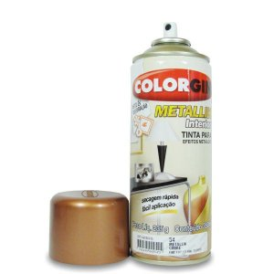 Tinta Spray Metallik Cobre 54 350ml - Colorgin