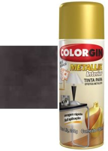Tinta Spray Metallik Bronze 55 350ml - Colorgin