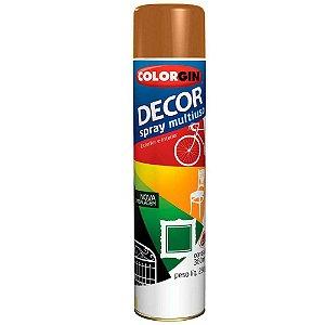 Tinta Spray Colorgin Decor Uso Geral 8671 Marrom Barro 350ml