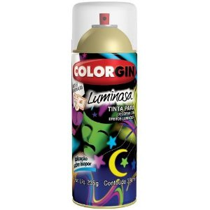 Tinta Spray Luminosa Verniz - Colorgin