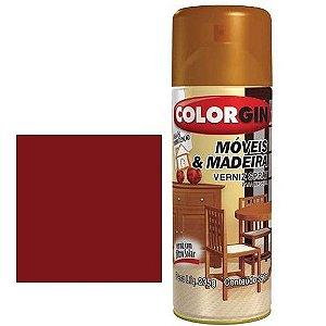 Tinta Spray Colorgin Para Moveis E Madeiras Mogno Fosco 785
