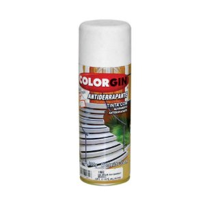 Tinta Spray Colorgin Antiderrapante - Branco