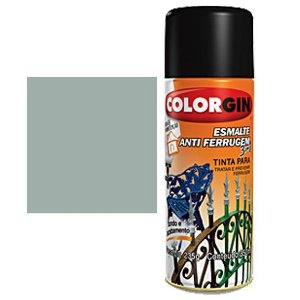 Tinta Spray Colorgin Esmalte Antiferrugem 3 X 1 Platina