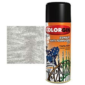 Tinta Spray Colorgin Esmalte Antiferrugem 3 X 1 Aluminio
