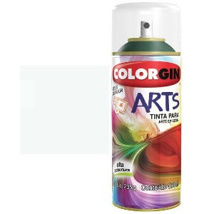 Colorgin Spray Arts P/grafiteiro Branco 650