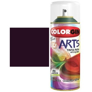 Colorgin Spray Arts P/grafiteiro Roxo Beterraba 658