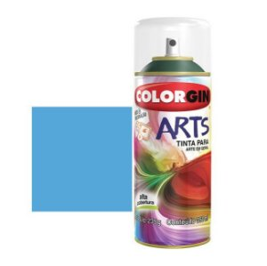 TINTA COLORGIN SPRAY ARTS - AZUL CEU 661