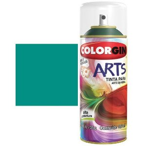 Colorgin Spray Arts P/grafiteiro Verde Mata 665