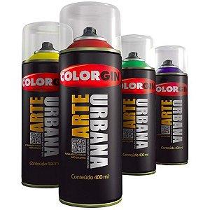 Tinta Spray Arte Urbana Colorgin 400 Ml Verde Esmeralda - 907