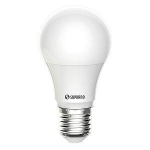 Lampada Led 9w Bulbo Soquete E27 Bivolt 3000k Amarela