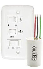 Controle Ventilador Com Capacitor - 3 Vel - 110v Re 07-02