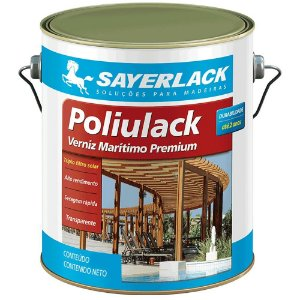 Verniz Marítimo Poliulack Sayerlack 3,6 Litros