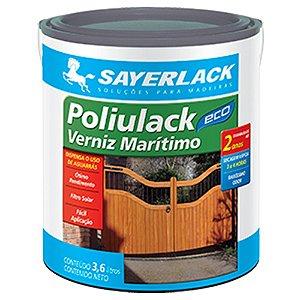 Verniz Marítimo Base Água Poliulack Eco 3,6 Litros Sayerlack