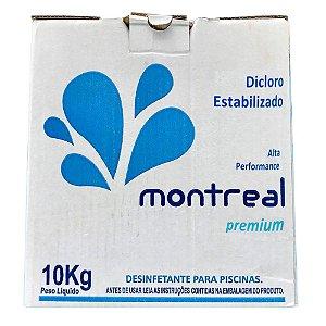 Dicloro Estabilizado Cloro Puro Montreal Caixa - 10 Kg