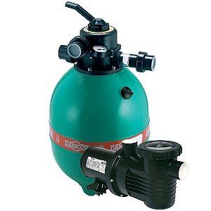 Filtro P/ Piscina Dfr 15-7 C/ Bomba 1/2cv 110/220v Dancor
