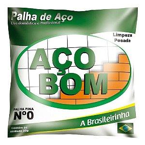 PALHA DE ACO - ACO BOM - NUMERO 0