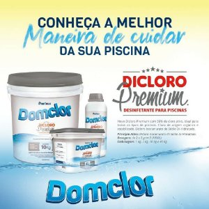 CLORO DOMCLOR DICLORO PREMIUM DOMCLOR BALDE - 10 KGS