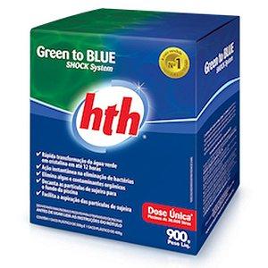 Green To Blue Purificador De Água Hth 900 Grs