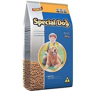 Raçao Cães Special Dog Premium Carne 20 Kg