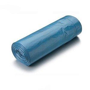 Saco de Lixo Azul Economic 50 Litros 10 pçs