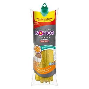 Mop Limpa Tudo Novica Amarelo Refil
