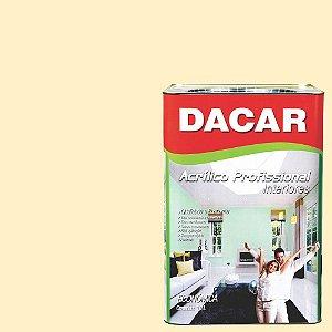 Tinta Acrílica Dacar Fosco Profissional 18 L Marfim