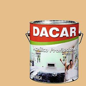 Tinta Acrílica Dacar Fosco Profissional 3,6 L Camurça