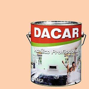 Tinta Acrílica Dacar Fosco Profissional 3,6 L Pessego