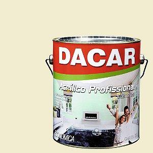 Tinta Acrílica Dacar Fosco Profissional 3,6 L Bianco Sereno