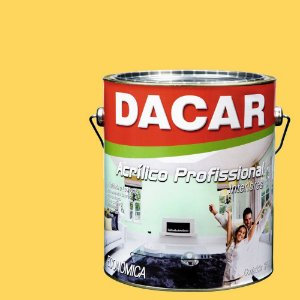 Tinta Acrílica Dacar Fosco Profissional 3,6 L Cromo Suave