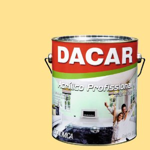 Tinta Acrílica Dacar Fosco Profissional 3,6 L Vanilla