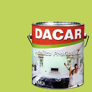 Tinta Acrílica Dacar Fosco Profissional 3,6 L Verde Tropical