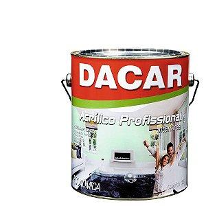 Tinta Acrílica Dacar Fosco Profissional 3,6 L Branco