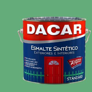 Tinta Esmalte Sintético Standard Dacar Verde Nilo 225 ml
