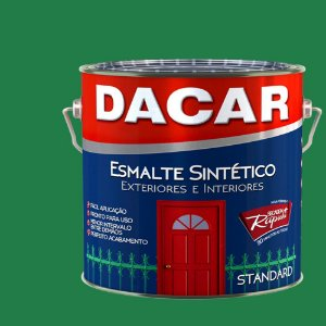 Tinta Esmalte Sintético Standard Dacar Verde Folha 900 Ml