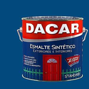 TINTA ESMALTE STANDARD DACAR C: AZUL FRANCA - 225 ML