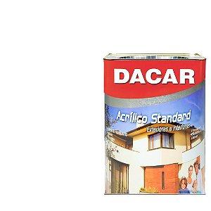 Tinta Acrilico Latex Standar Dacar 18 L  Branco