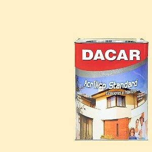 Tinta Acrilico Latex Standar Dacar 18 L Marfim