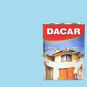 Tinta Acrilico Latex Standar Dacar 18 L Azul Céu