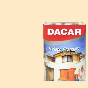 Tinta Acrilico Latex Standar Dacar 18 L Perola
