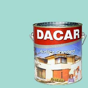 Tinta Acrilico Latex Standard Dacar 3,6 L Verde Piscina